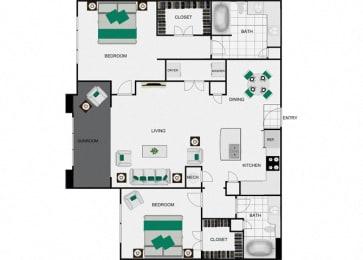 B4c floorplan for arlo westchase