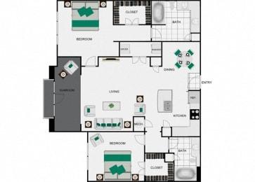 B4d Floorplan for arlo westchase