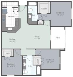 Floor Plan The Devonshire