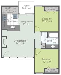Floor Plan The Terrace