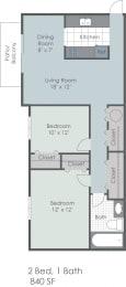 Floor Plan The Remington