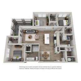 Floor Plan Tempo
