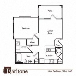 Baritone floor plan