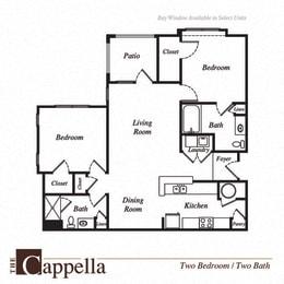 Capella floor plan