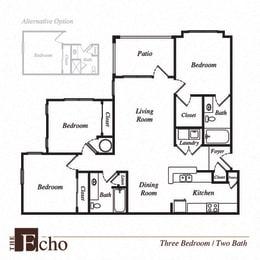 Echo floor plan