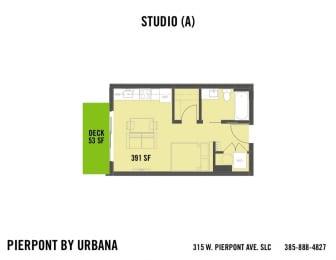 Floor Plan STUDIO (A)