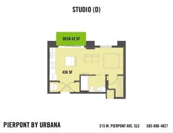 Floor Plan STUDIO (D)