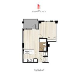 Floor Plan Henri Matisse 2, opens a dialog