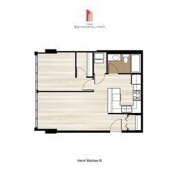 Floor Plan Henri Matisse 3, opens a dialog
