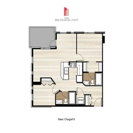 Floor Plan Marc Chagall 2