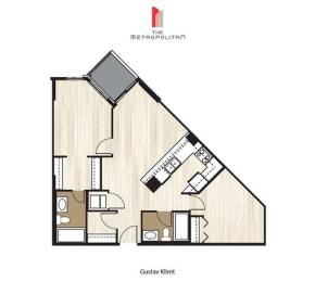 Floor Plan Gustav Klimt, opens a dialog