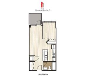 Floor Plan Henri Matisse 1, opens a dialog