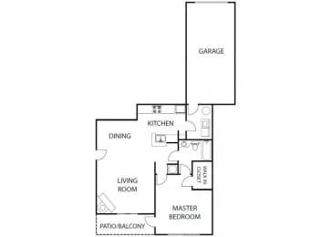 Amelia 1 bedroom 1 bath bay club apartment homes jacksonville florida