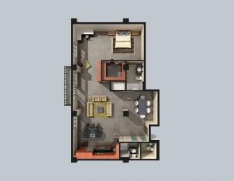 Floor Plan Temple