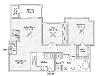frisco one bedroom apartments, opens a dialog
