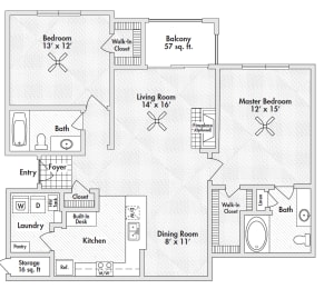 two bedroom apartments in frisco, opens a dialog