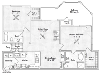 frisco two bedroom apartments
