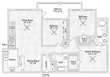 three bedroom apartments in 75305, opens a dialog