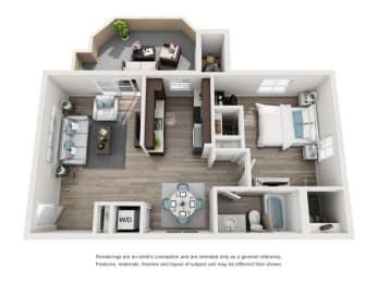 La Bello Floorplan, opens a dialog
