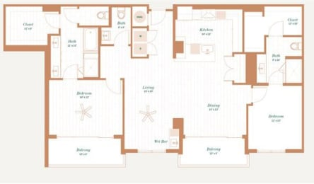 Floor Plan Dogwood