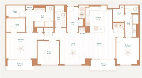 Floor Plan Hawthorne