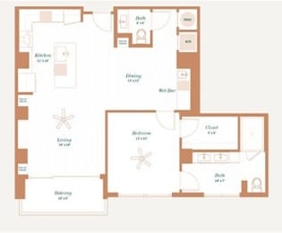 Floor Plan Persimmon