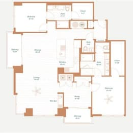 Floor Plan Wisteria