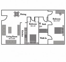 Floor Plan The Iris