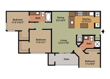 Floor Plan 3A, opens a dialog