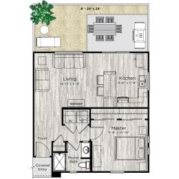 The Alcove Floor Plan at Avilla Lehi Crossing, Arizona
