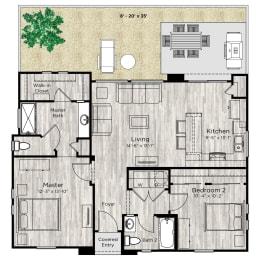 The Retreat Floor Plan at Avilla Lehi Crossing, Mesa, 85213