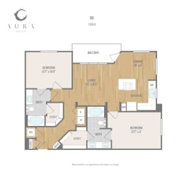 Aura One90 Apartments B6 Floor Plan