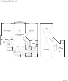 B1bl Floor Plan at 800 Carlyle, Virginia, opens a dialog