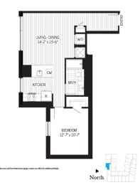 Floor Plan Lamarr a06m(Income Restricted)