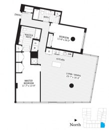 Floor Plan Goldmark b05a