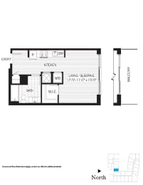 Floor Plan Edison s02m (Income Restricted)