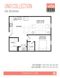 Floor Plan Uno Collection (A9, A10)