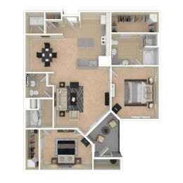 Floor Plan Bombay