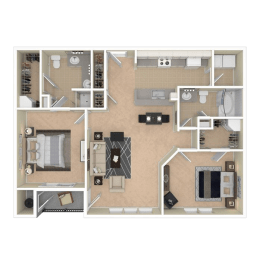 Floor Plan Montreal