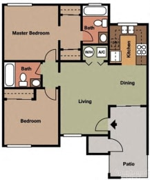 Two bedroom apartments in Temecula CA