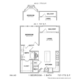 Floor Plan HA.A3