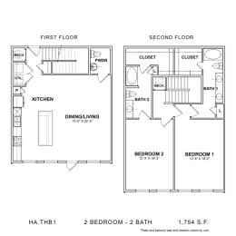 Floor Plan HA.THB1