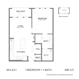 Floor Plan WH.A4.1