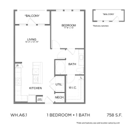 Floor Plan WH.A6.1