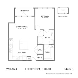 Floor Plan WH.A6.4