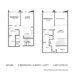 Floor Plan WH.B1L