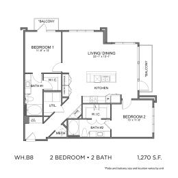 Floor Plan WH.B8