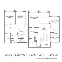 Floor Plan WH.BC1L