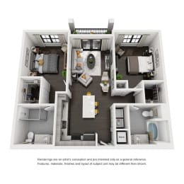 Floor Plan B1-B