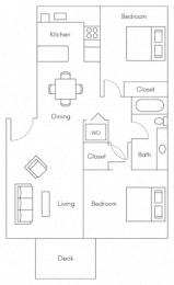 Clipper Floor Plans at Serenity at Larkspur, California, 94939